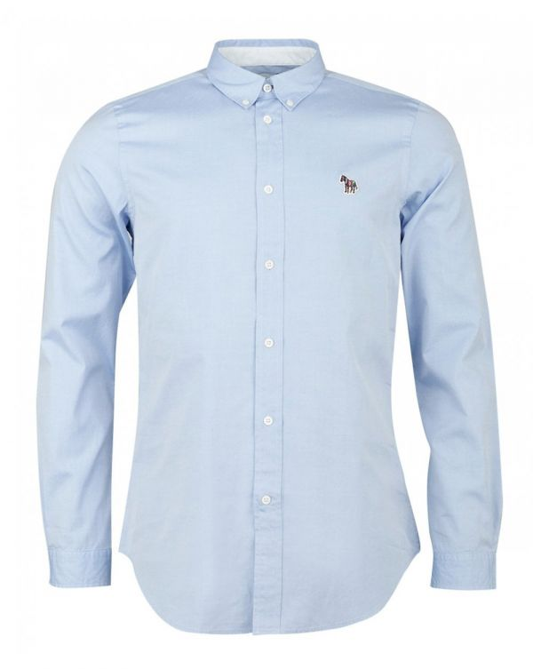 Zebra Tailored Fit Oxford Shirt