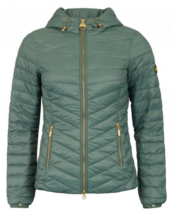 Ringside Chevron Quilted Jacket