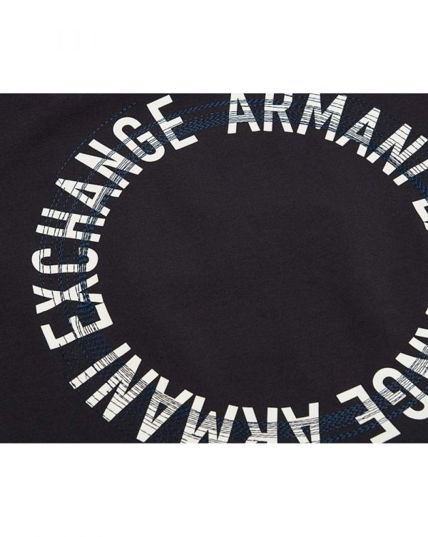 Reverse Circle Logo Crew Neck T-shirt