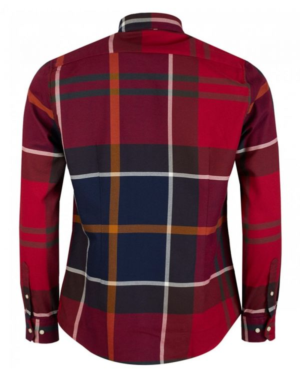 Dunoon Large Scale Tartan Tailored Shirt