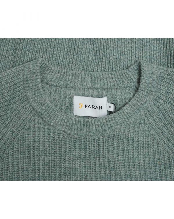 Garway Ribbed Crew Neck Knit