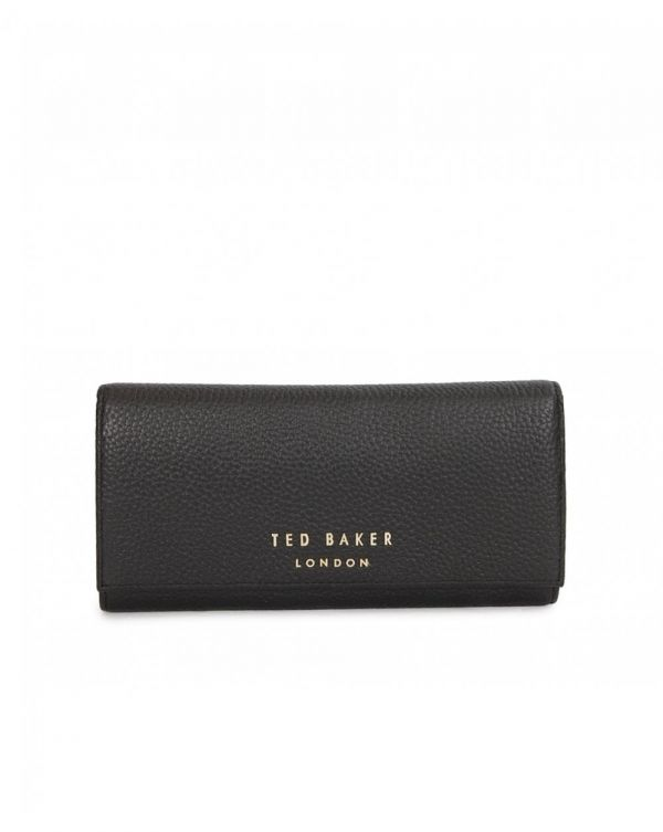 Letter Logo Leather Purse