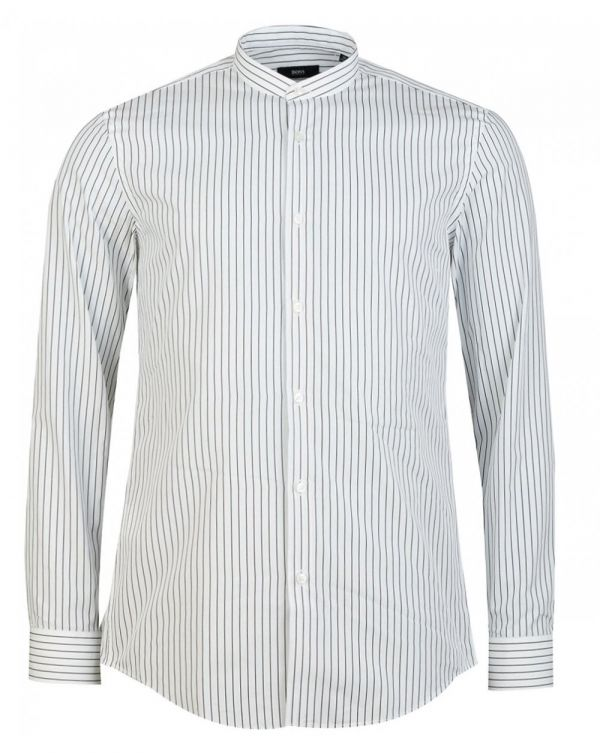 Jordi Striped Henley Shirt