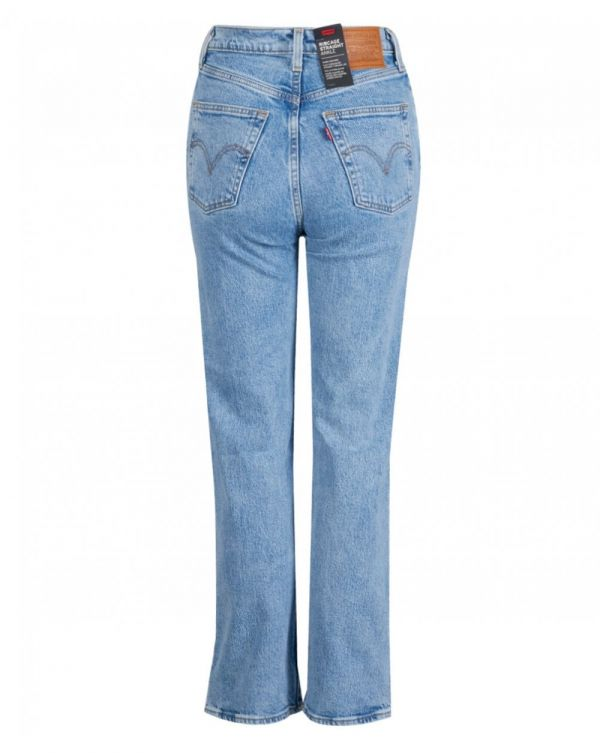 Ribcage Straight Hi Rise Ankle Jeans