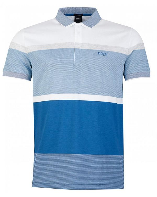 Paddy 4 Striped Block Polo