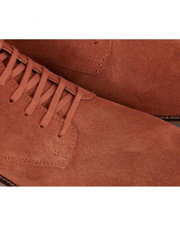 Leather Tanker Boots