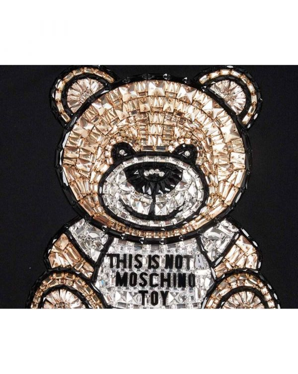 Embroidered Teddy Bear Hoody