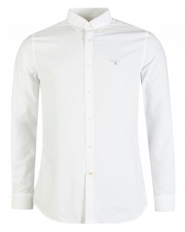 No 3 Tailored Long Sleeved Oxford Shirt
