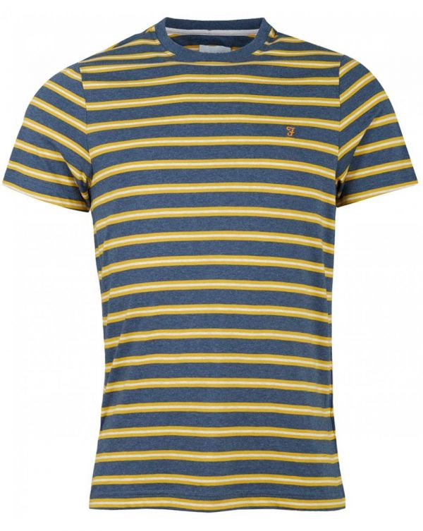 House Crew Neck Multi Striped T-shirt