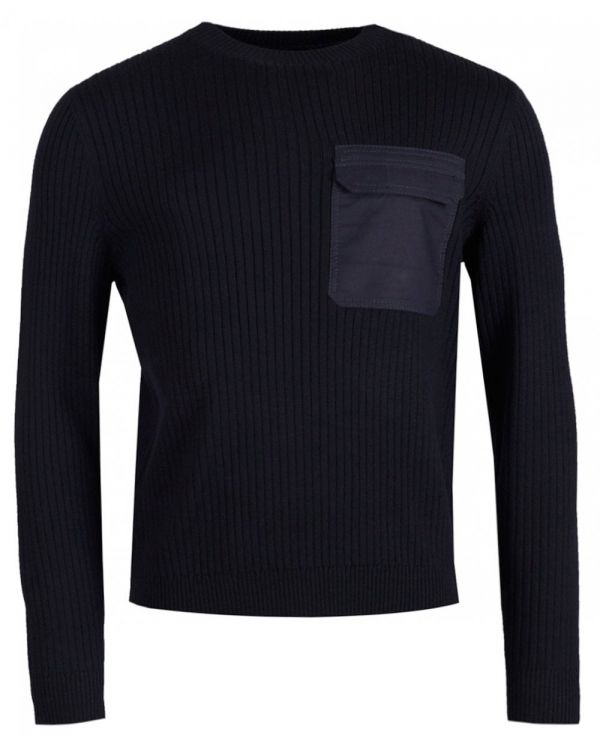 Bluestack Ribbed Chest Knit