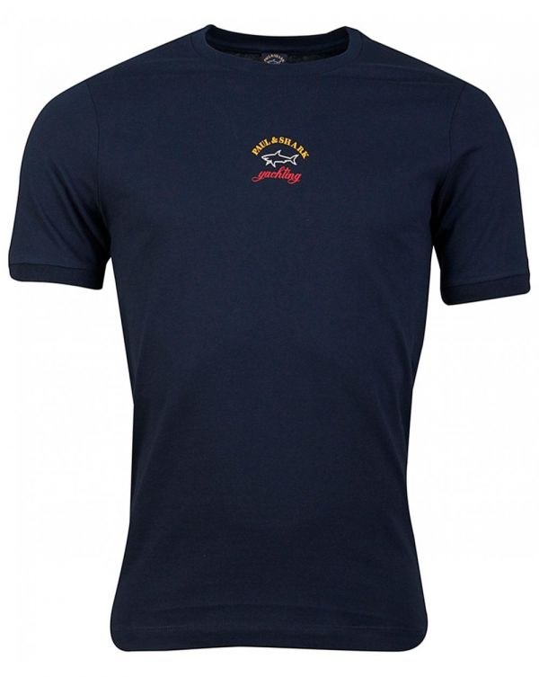 Small Tricolour Chest Logo T-shirt