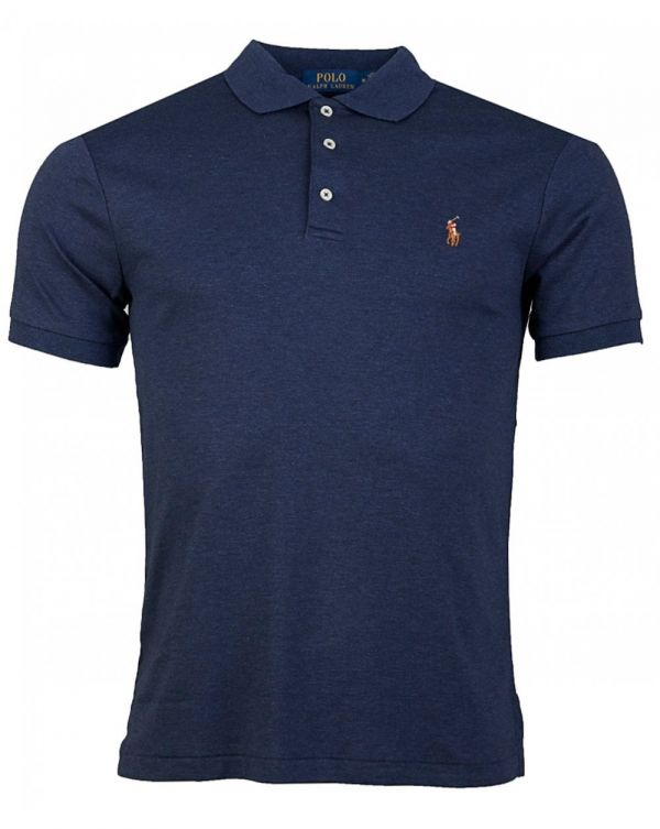 Short Sleeved Soft Touch Slim Fit Polo