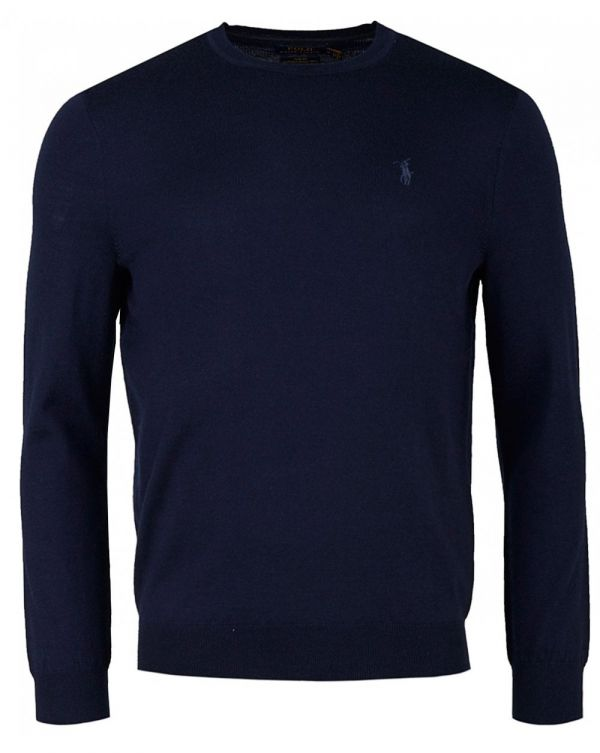 Crew Neck Merino Knit