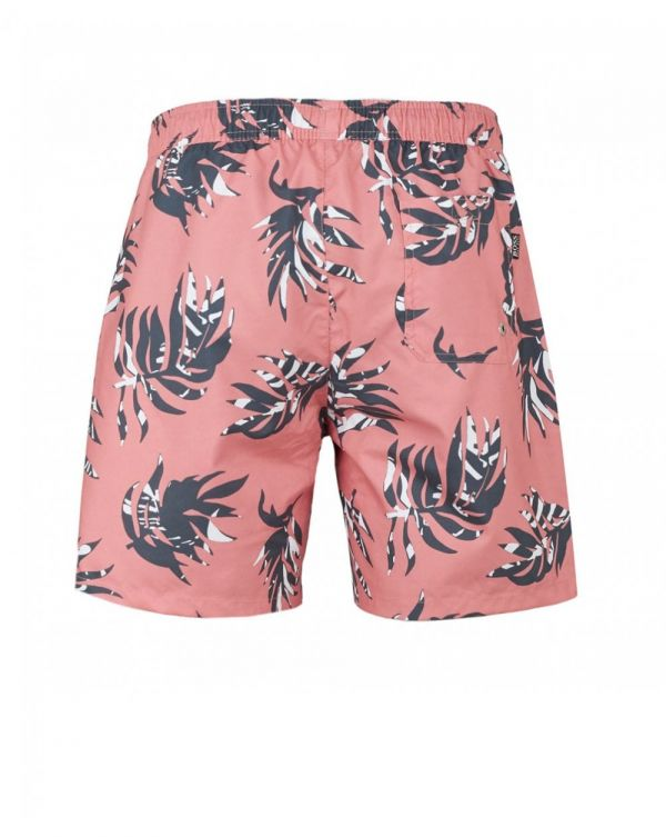 Goldfish Leaf Print Swim Shorts