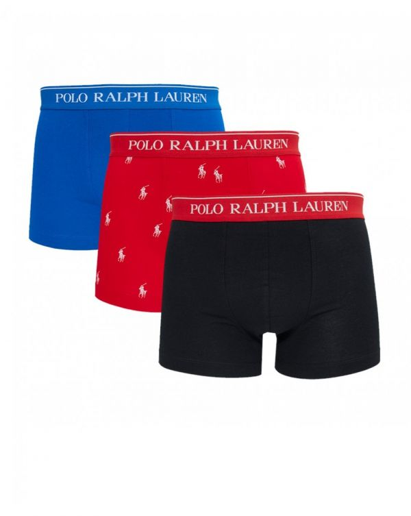3 Pack Plain All Over Pp Boxer Shorts