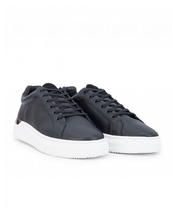 Mallet Grftr Leather Trainers