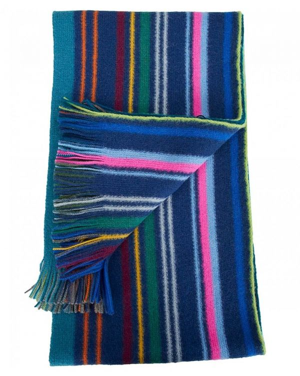 Lionel Reversible Wool Scarf