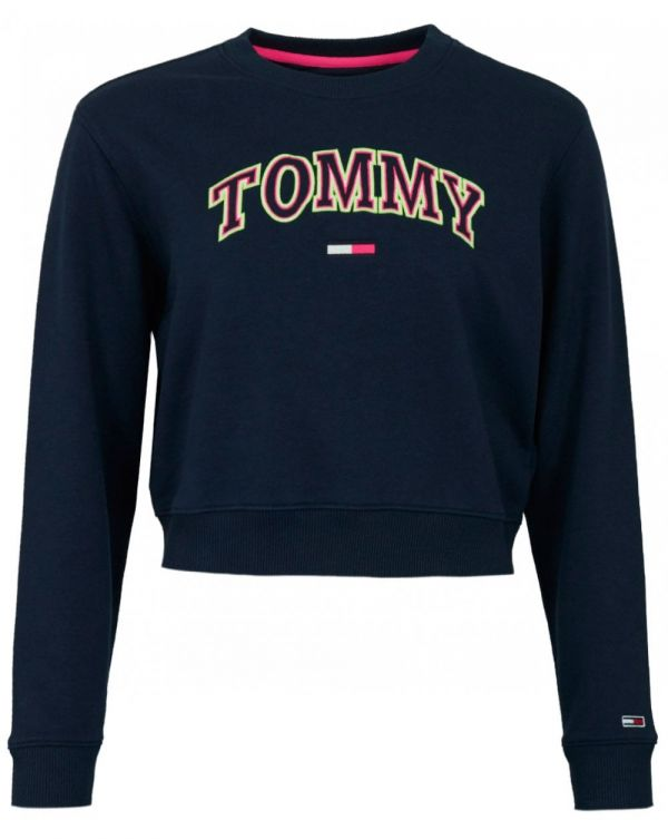 Tommy Neon Outline Logo Sweat