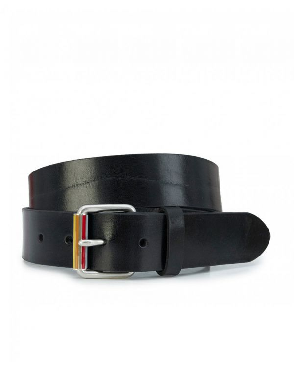 Enamel Leather Roller Belt