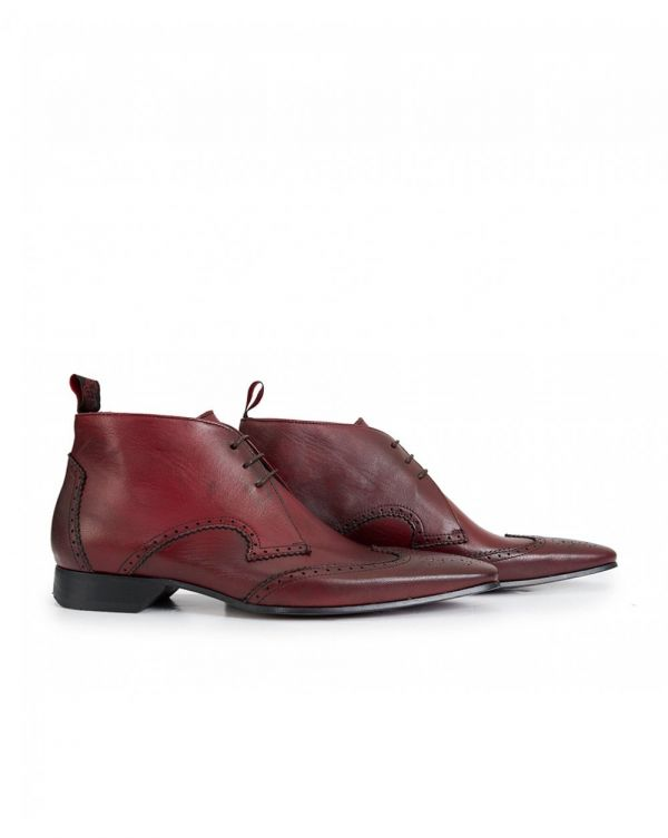 Escobar Wingtip Leather Boots