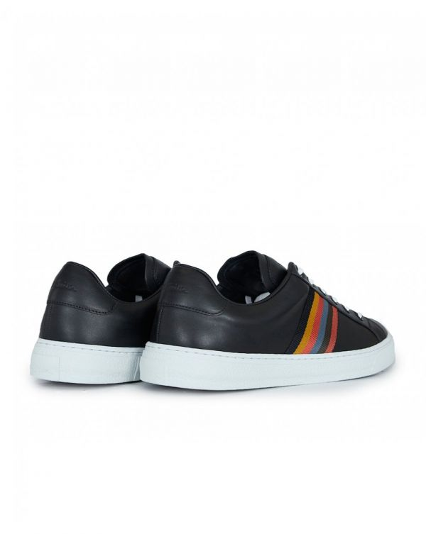 Hanson Leather Tape Trainers