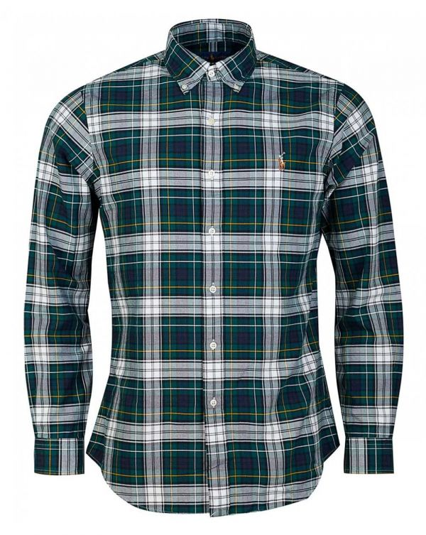 Slim Fit Multi Check Tartan Shirt