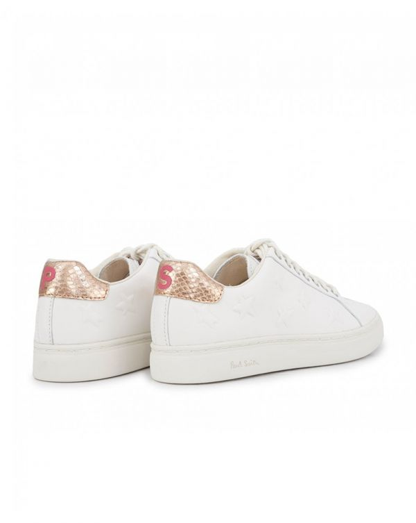 Embossed Star Print Trainers