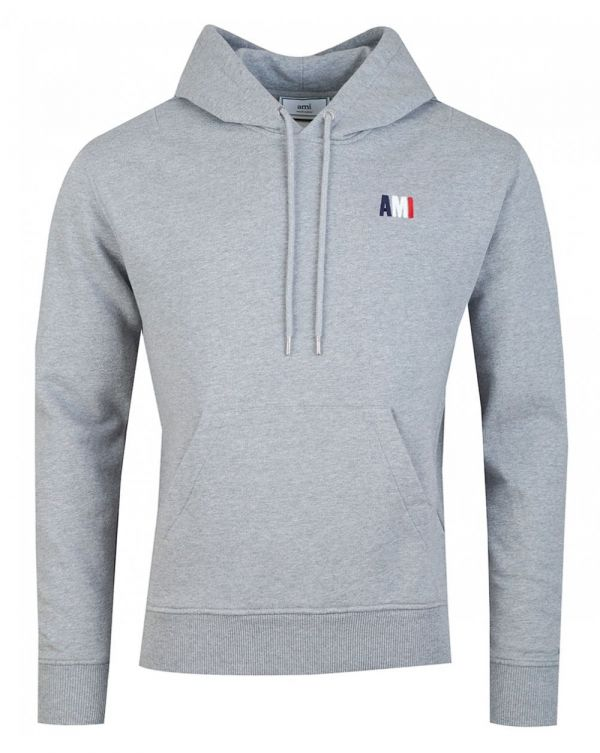 Ami Tri Colour Logo Hoody