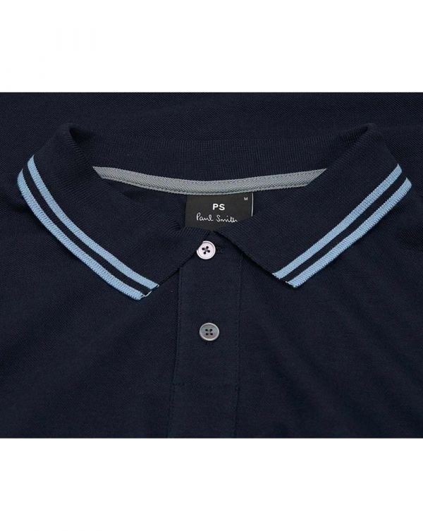 Supima Cotton Long Sleeved Polo Shirt