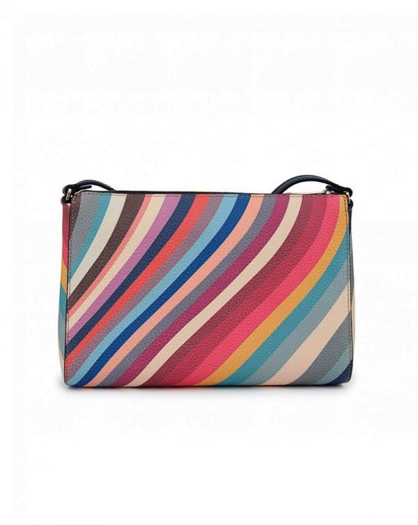 Swirl Leather Pochette