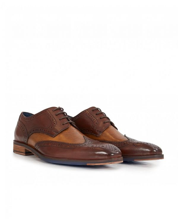 Eamon Contrast Colour Panel Shoes