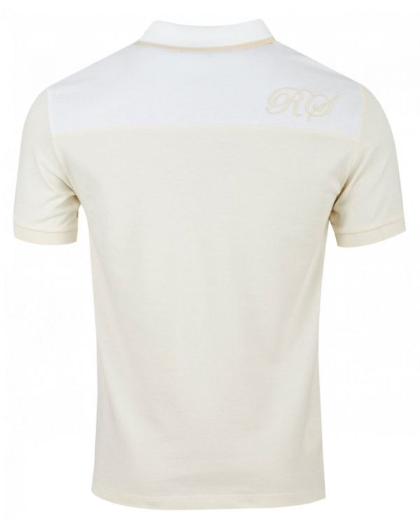 Embroidered Initial Pique Polo Shirt