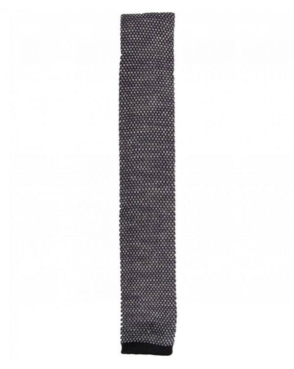 Marl Knitted Tie