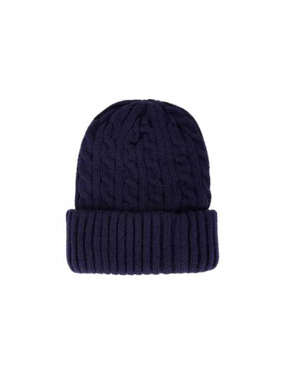 Balfron Cable Knit Beanie Hat