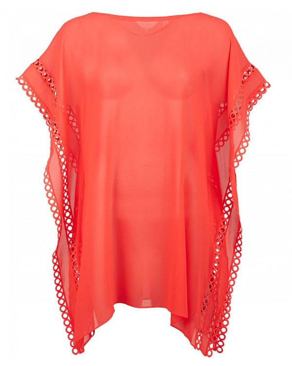 Circle Lace Square Cover Up