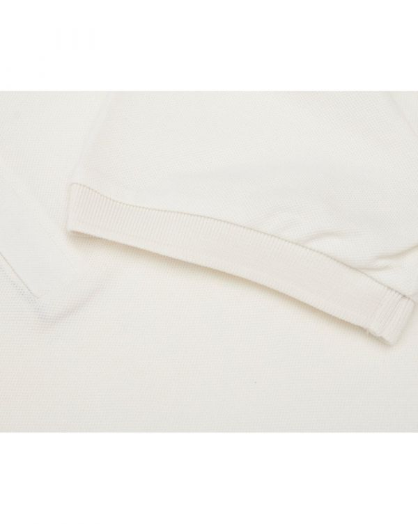 Taped Side Short Sleeved Pique Polo