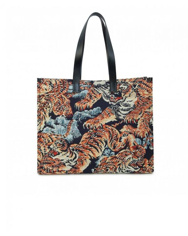 Iconic Tiger Large Tote Bag