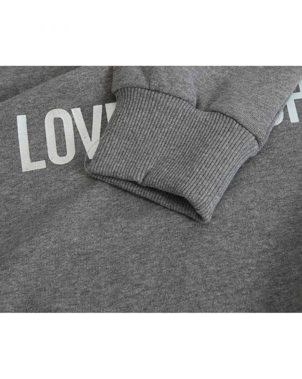 Metallic Heart Sweat Dress