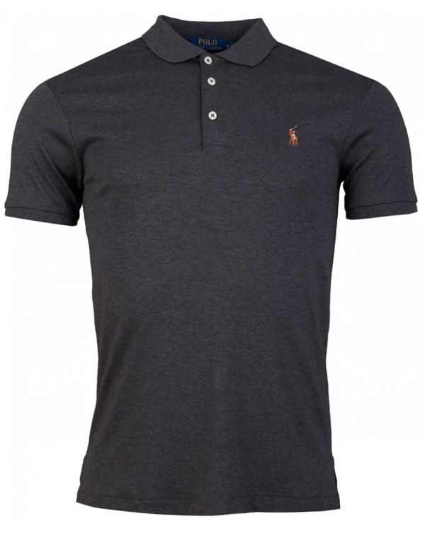 Short Sleeved Soft Touch Slim Polo Shirt