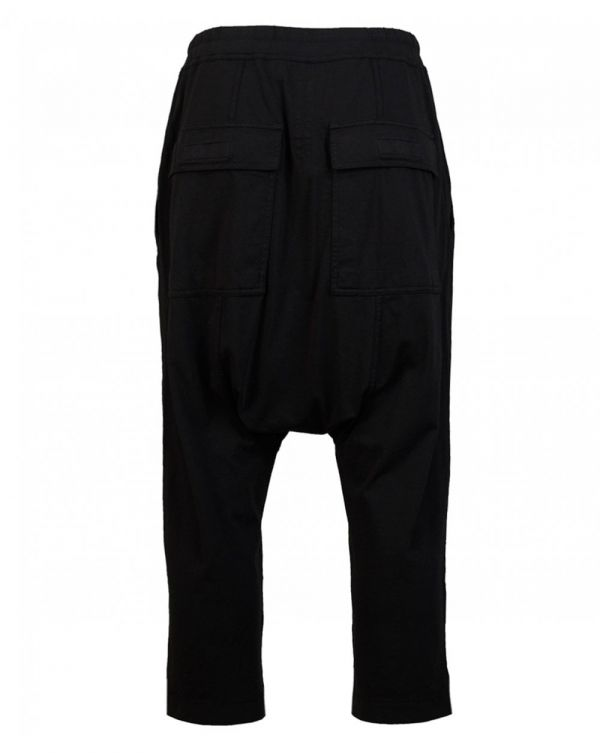 Drawstring Cropped Jersey Trousers