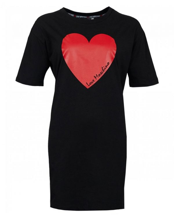 Heart Logo T-shirt Dress