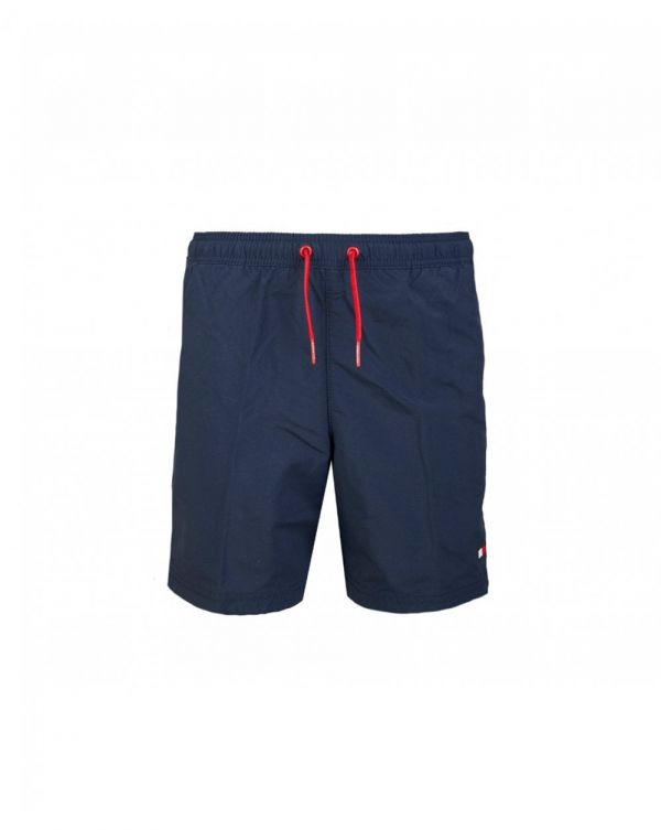 Flag Logo Drawstring Swim Shorts
