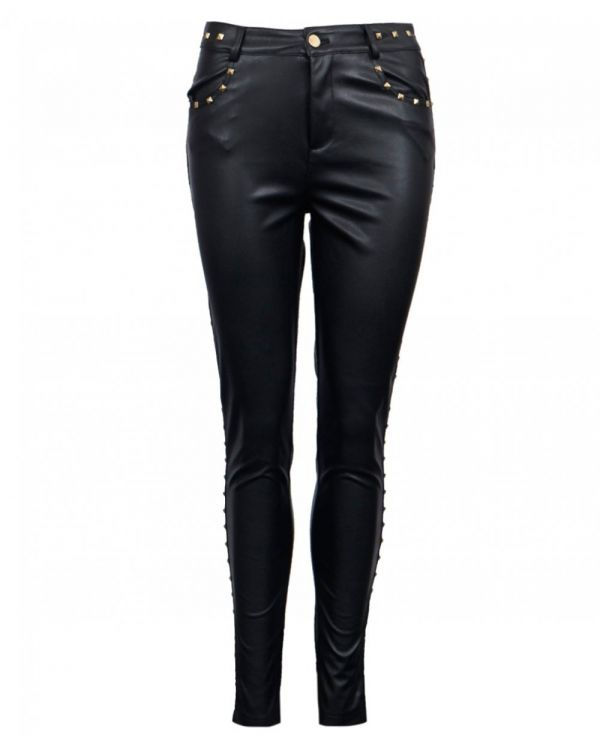 Stud Detail Trousers