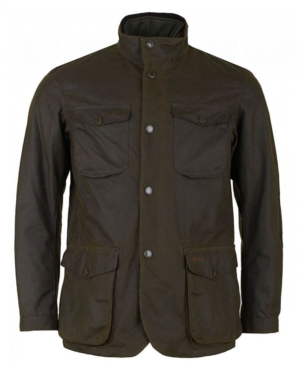 Ogston Four Pocket Waxed Jacket