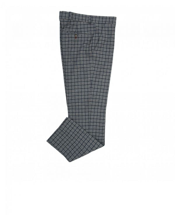 Multi Check Trousers