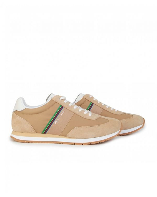 Prince Suede Mix Trainers