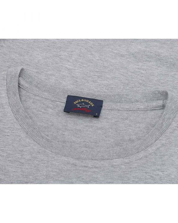 Crew Neck Tri Colour Logo T-shirt