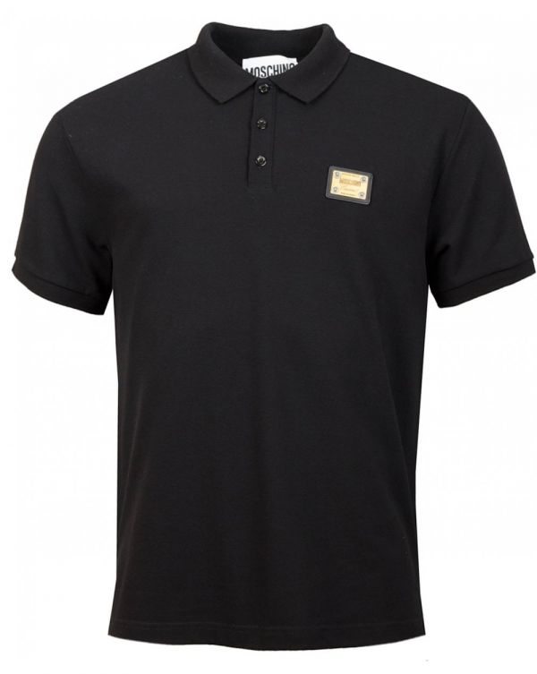 Metal Badge Logo Polo Shirt