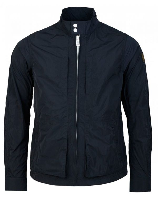 Grove Contrast Zip Nylon Jacket
