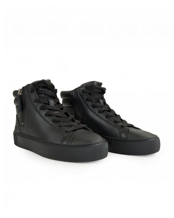 Olli Leather Hi Top Trainers
